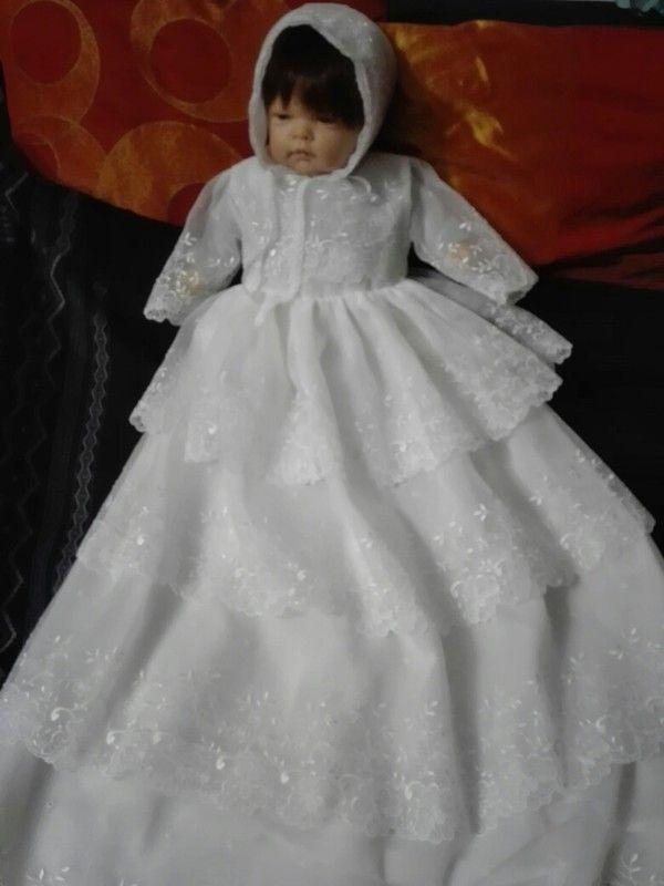 1ae64b22e53 Robe de Baptême